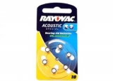 10 Rayovac Accoustic Special 1.4V 5.8x3.6mm