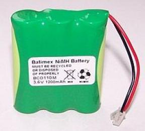 BCO110M 1200mAh NiMH 3,6V 3xAA - Baterie pro bezdrátové telefony