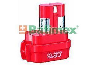 Batimex Makita 9100 1700mAh 16.3Wh NiCd 9.6V - Baterie k aku nářadí - neoriginální