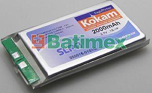 2000H Kokam 2000mAh Li-Polymer 3.7V 15C + PCM - Příslušenství k RC modelům