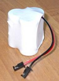BCO105 600mAh 2.2Wh NiMH 3.6V 3x2/3AA - Baterie pro bezdrátové telefony