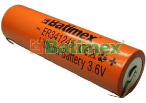 ER341245-FT 3.6V DD plíšky
