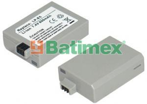 Batimex Canon LP-E5 800mAh 6.3Wh Li-Ion 7.4V - Foto - Video baterie - neoriginální
