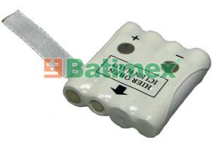 Switel WT227 700mAh 3.4Wh NiMH 4.8V - Baterie pro vysílačky