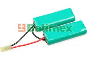 1800mAh 17.3Wh NiMH 9.6V BSG019 - Airsoftove baterie