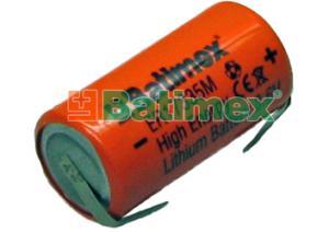 ER17335M-FT 1.7Ah 3.6V 2/3A 17.5x33.5mm vysokopr. plíšky pro páj.