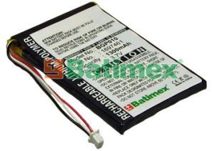 TomTom Go 720 1300mAh 4.8Wh Li-Polymer 3.7V - Baterie k GPS