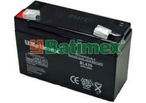 Batimex BL435 3.5Ah 14.0Wh Pb 4.0V 60x35x60x66mm - Olověné baterie