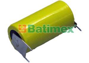CR17335BL-VBR 3.0V (cena za 1 ks) 2/3A 17.5x33.5mm plíšky 2x1