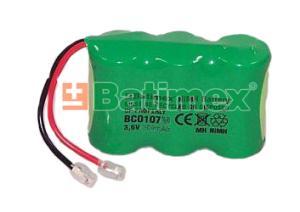 BCO107M 750mAh 2.7Wh NiMH 3x2/3AA 3.6V - Baterie pro bezdrátové telefony