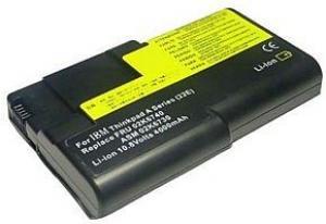 IBM ThinkPad A21e 4000mAh 43.2Wh Li-Ion 10.8V