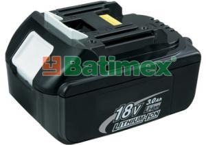 Batimex Makita BL1830 3.0Ah 54Wh Li-Ion 18.0V - Baterie k aku nářadí - neoriginální