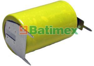 CR14250BL 3.0V (cena za 1 ks) 1/2AA 14.5x25mm plíšky 2x1