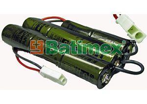 2000mAh 19.2Wh NiMH 9.6V BSG001 - Airsoftove baterie