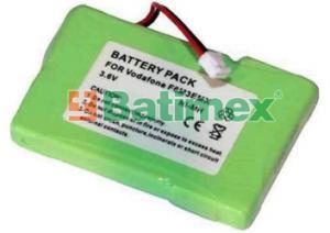Sagem D95c 400mAh 1.4Wh NiMH 3.6V - Baterie pro bezdrátové telefony