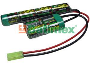 1500mAh 14.4Wh NiMH 9.6V BSG023 - Airsoftove baterie
