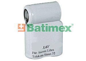 Telekom Sinus 52 1100mAh 4Wh NiMh 3.6V - Baterie pro bezdrátové telefony