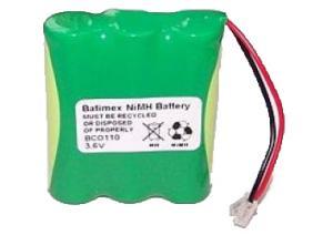 BCO110 600mAh NiMh 3.6V 3xAA - Baterie pro bezdrátové telefony