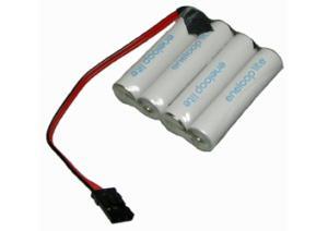 550mAh 4.8V NiMH 2.6Wh 4xAAA (4x1) BRC029 - Příslušenství k RC modelům