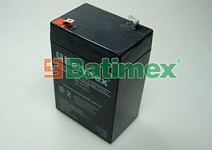 Batimex BL645 4.5Ah 27.0Wh Pb 6.0V 70x48x101x103mm - Olověné baterie