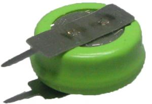 H40BC-VY Vinnic 40mAh NiMH 1.2V 11.6x5.5mm plíšky 1x1