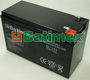 BL1272 7.0Ah 86.4Wh Pb 12.0V 151x65x94x100mm Faston 4.75x6.35mm