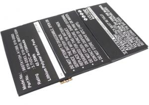 Apple iPad 2 7200mAh 26.6Wh Li-Polymer 3.7V
