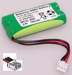 Philips Kala 300 700mAh 1.7Wh NiMH 2.4V 2xAAA - Baterie pro bezdrátové telefony