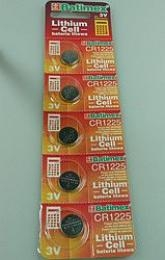 CR1225   3.0V (cena za 1 ks) 12x2.5mm blistr 5 ks