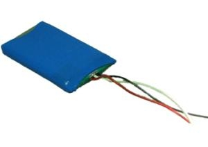 LP503759 1100mAh 4.1Wh Li-Polymer 3.7V 5.0x37.5x59.0mm + PCM
