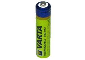AAA R03 800mAh NiMH 1.2V Varta Longlife Ready2Use 10-pack