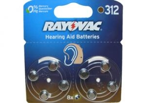 312 Rayovac Extra Advanced 1.4V 7.9x3.6mm
