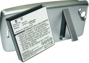 Sony Ericsson Xperia Arc 2500 mAh 9,3 Wh Li-Ion 3,7 V stříbro