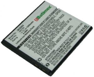 Sony Ericsson Xperia Arc 1200 mAh 4,4 Wh Li-Ion 3,7 V