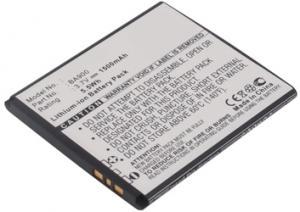 Sony Ericsson Xperia J 1500 mAh 5,6 Wh Li-Ion 3,7 V