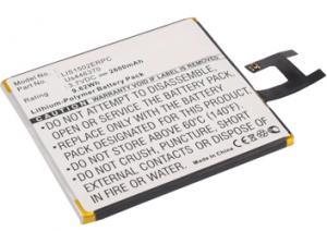 Sony Ericsson Xperia Z 2600 mAh 9,6 Wh Li-Ion 3,7 V
